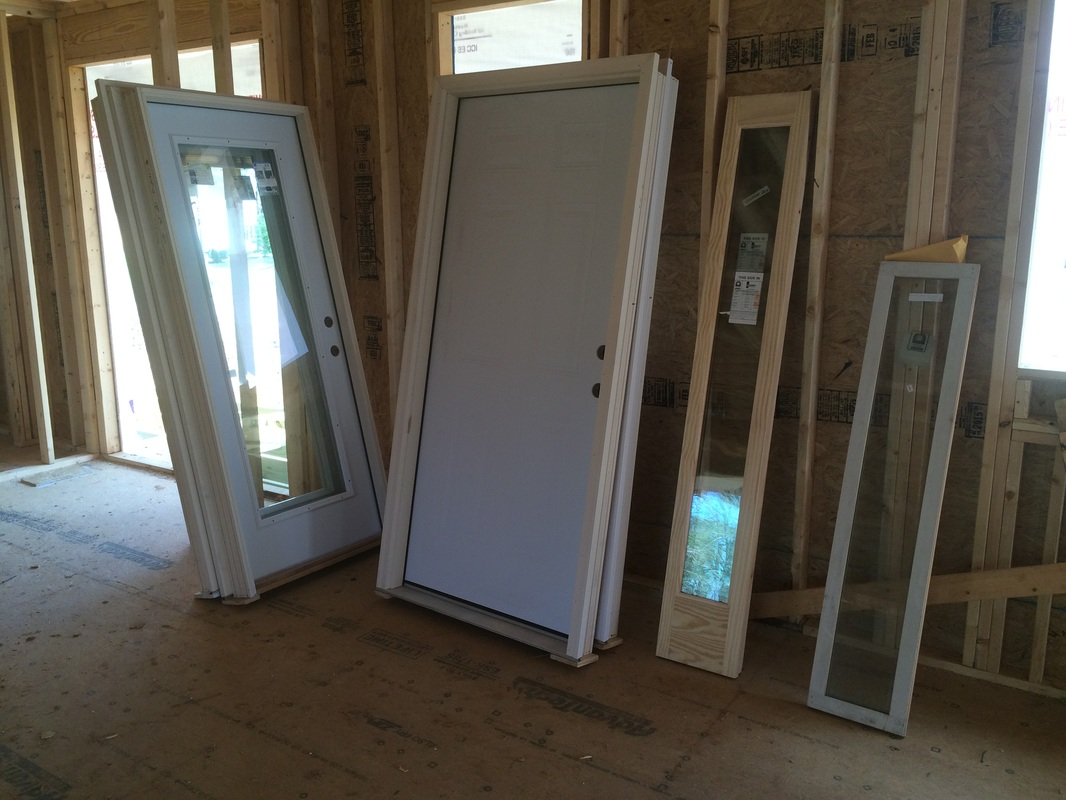 Doors and Electrical - Our New House!